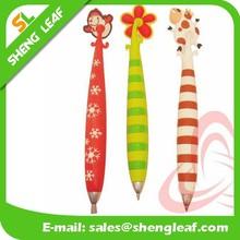 Cheap promotional custom soft pvc ballpoint pen