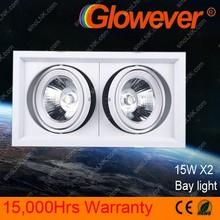 Glowever Hall lantern LED Bay light Double lamp SKD parts 15W*2