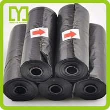Yiwu China 2015 biodegradable plastic wholesale pet waste bags black