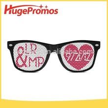 Wayfarer Style Promotional Custom Print Glasses,Logo Lens Sunglasses