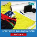 """Sublimation t- camisas de impressão a3 a4 24"""" 42"""" 44"""" para o tecido de poliéster para a impressão por sublimação sublimation t- camisas papel"""