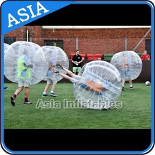 Top Quality Inflatable Bubble Soccer Bumper Ball Belly Loopy Ball For Playing Football