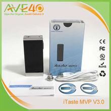Newest Big Vapor Mod 30w E Cigarette iTazte MVP 3.0 from Ave40
