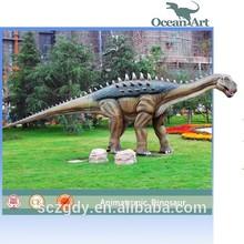 Outdoor equipment zigong animated life size dinosaur