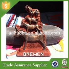 Custom resin 3D Bremen city fridge magnet item