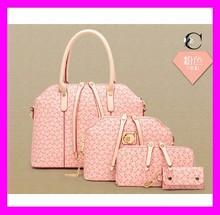 2015 popular leather ladies tote bag fashion shoulder bag fancy clutch purses HD1606