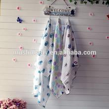Hot Popular Baby Muslin Blanket 120*120cm After Washed