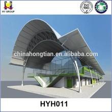Steel tube truss prefabricated hall