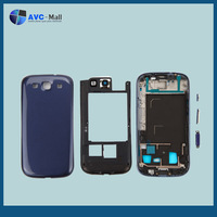 replacement spare parts for Samsung galaxy S3 i9300 full housing blue