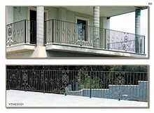 ISO9001 used lowes wrought iron railing design