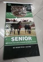 20kg Horse Feed Plastic Woven Packing Bag,Pet Food Feed Woven Bag/Sacks