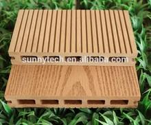 Wood plastic composite flooring outdoor 1 side wood grain