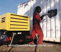 Atlas Copco XAS186C (11.5m3/min 7bar) diesel engine diesel driven portable air compressor for sand blasting
