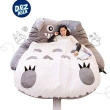 Oversized giant beanbag pillow bed tatami chairs lovers thick sleeping bag cartoon