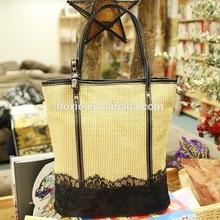 New Style for Summer Straw Bag Lace Bag Vintage Bag