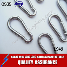 316 and 304 stainless steel polished/Top Quality Stainless Steel Snap Hooks for climbing