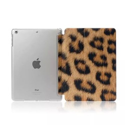 for iPad Air PU Leather Smart Cover,for iPad Air 2 Crystal Back Cover