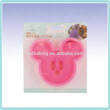 cortador plástico cookie mickey mouse