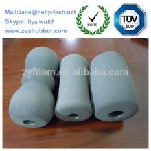 baby carriage rubber foaming handle grip/popular five finger mark/EVA/NBR foam handle