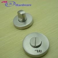 Good quality round shape bathroom door lock