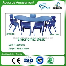 Salable brand new HDPE plastic table for children