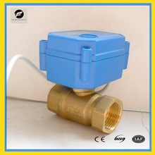 2 way 25mm motorized ball valve forrain water, irrigation system Solar thermal,