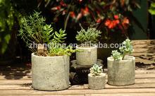 2015 hottest style of mini flower pots garden flower pots