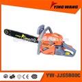 Tronçonneuse à essence 58cc 70z yw-jjs5800c outils de jardin
