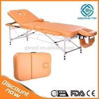 GT03F low price folding aluminum massage table