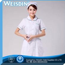 odor-free fashion design poplin pink pants nurse uniform set medical