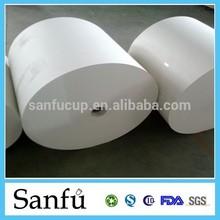 PE Coated Paper, Food Packaging Paper, 100% Wood Pulp