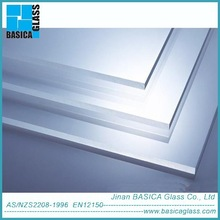 3.2mm Prismatic low iron solar tempered glass