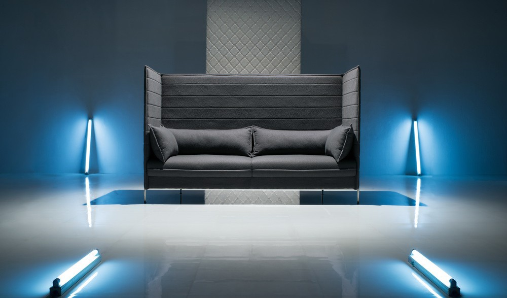 nische hohe r ckenlehne sofa b rosofa produkt id. Black Bedroom Furniture Sets. Home Design Ideas