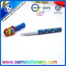 funny carton Ball Pen for kids