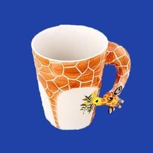 Wholesale Ceramic 3D Animal Mug For Kids