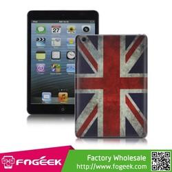New Retro UK Flag Smooth Hard Case Skin Cover for iPad Mini