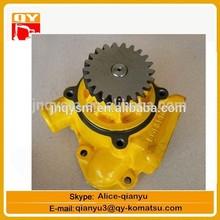 low price genuine and OEM S6D140 engine parts 6212-61-1303 WATER PUMP