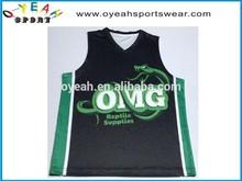 high quality basketball uniform custom design basketball jersey for team
