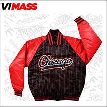 Custom Top design fashion printing college jacket , OEM/ODM service high quality varsity jacket wholesale china factory
