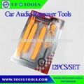 Pcs 12 universal del coche del automóvil panel de ajuste de audio removedor de herramientas, de radio baratos kit de herramientas, auto radio pry herramientas
