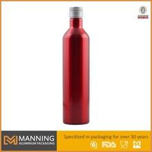 Design aluminum alcohol bottles 750ml