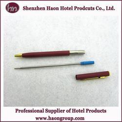 5star hotel standard mini ball pen with CE certificate