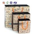 alta qualidade customed reciclado saco de papel de embalagem