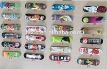 Fashion popular wood finger skate boarding deck funny competition mini sakte board set free shipping