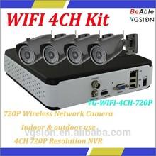 IP Camera manufacturer WIFI 3G USB Module 720P Wireless Network Camera IP Surveillance Kit