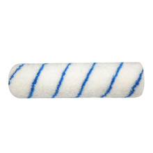 """9"""" acrylic roller cover blue stripe"""