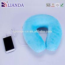 New invented waterproof speaker, wireless bluetooth headset, hand foam Car Pillow
