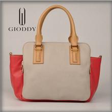 New producing fashion style genuine leather casual handbag wholesale