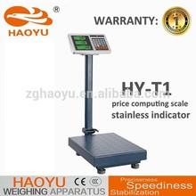 digital 300KG price weighing platform scale, tcs electronic price platform scale scale