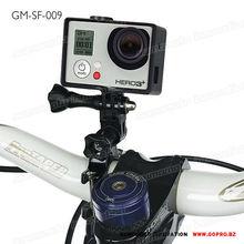 Fit 24.5 to 31.8 mm handlebar Gopros bike mount